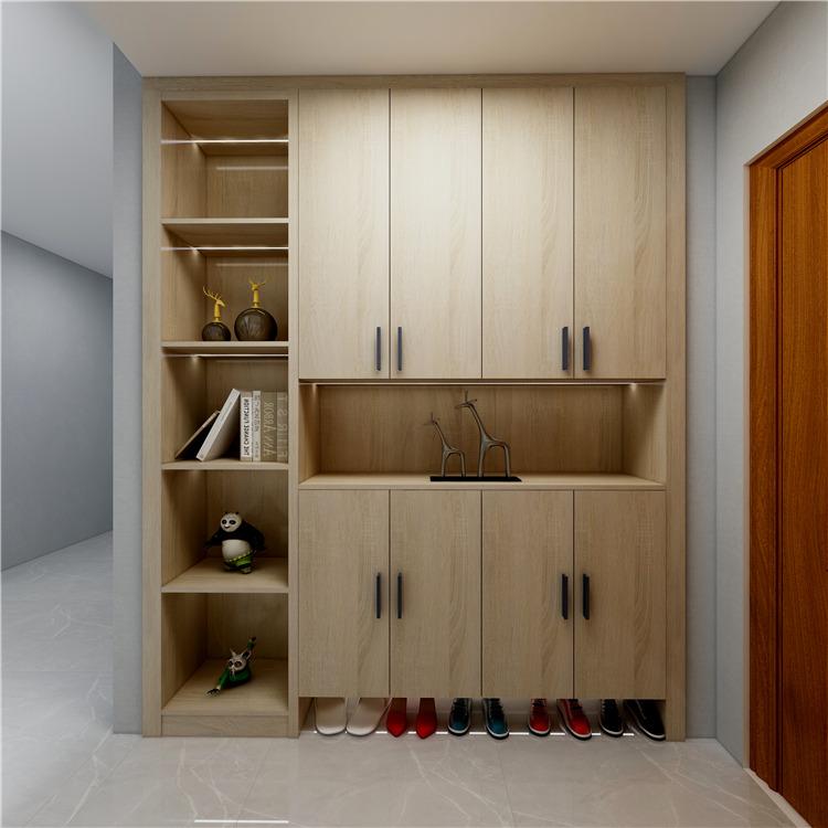 海口观澜湖观邸二期11栋/橱柜、衣柜设计案例